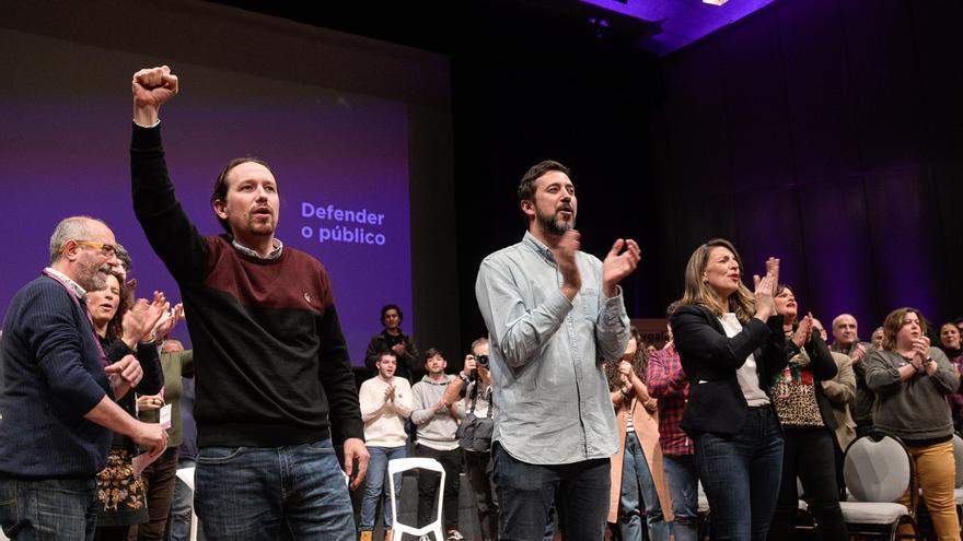 Pablo Iglesias, reelegido al frente de Podemos con el 92,2% de los apoyos y un 10,8% de participación