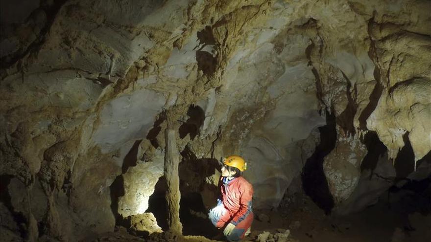 Hallan pinturas del paleolítico muy valiosas en una cueva de Cantabria