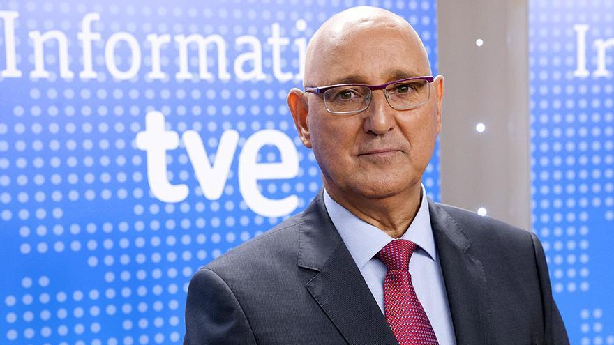 El director de informativos de TVE José Antonio Álvarez Gundín
