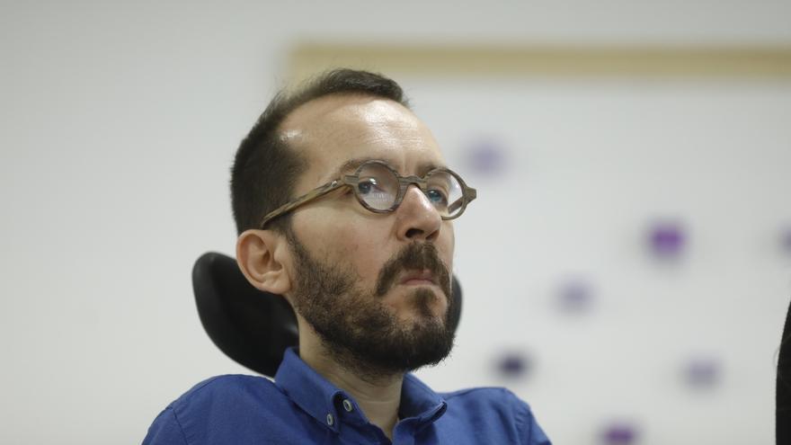 """Echenique ve un planteamiento """"reaccionario"""" en los que dicen que el chalé de Iglesias y Montero es """"incoherente"""""""