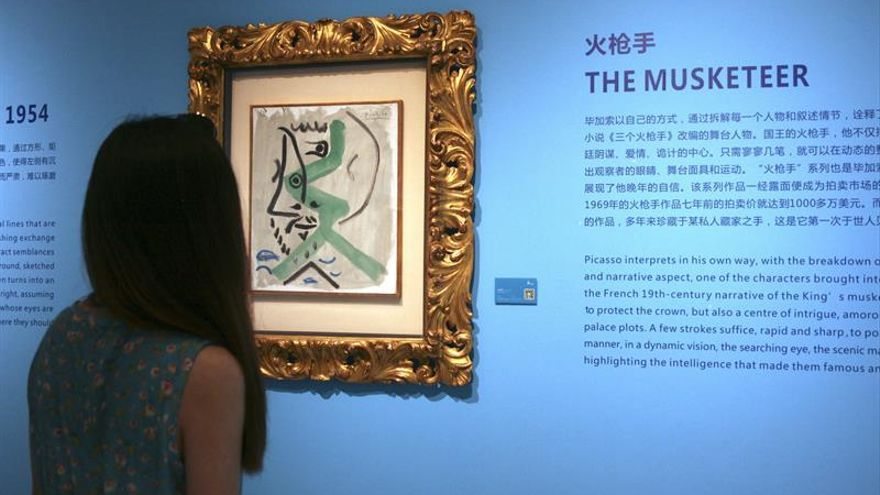 Una exposición de Picasso llega con polémica a China