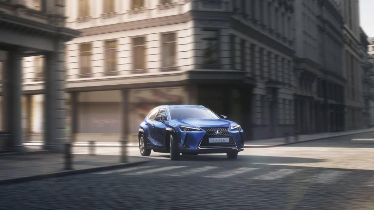 El Lexus UX300e.