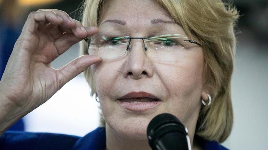 La fiscal venezolana pide investigar la financiación de actos chavistas