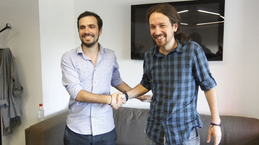 """Garzón cree que Pablo Iglesias abre la puerta a la unidad popular y eso """"devuelve optimismo al panorama"""""""