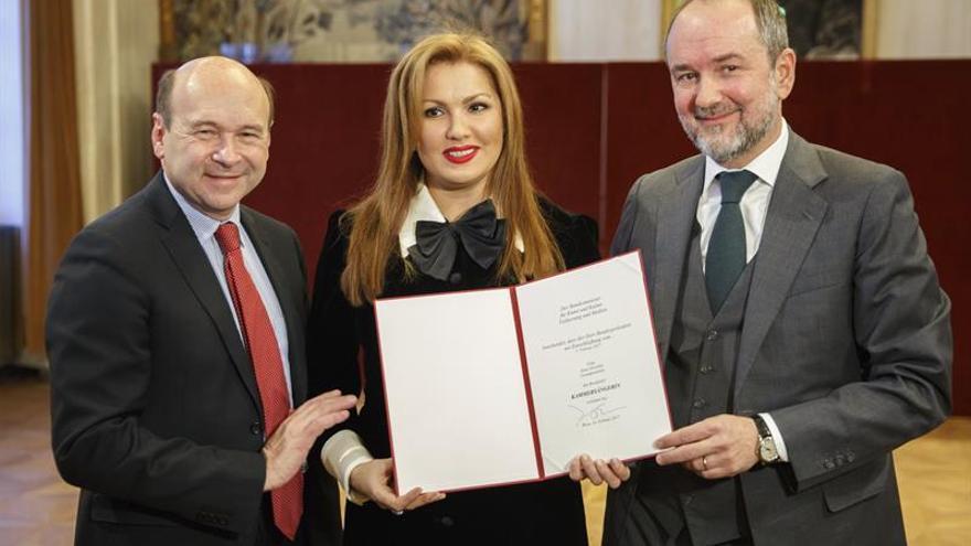 Austria concede a Anna Netrebko el prestigioso título de cantante de cámara