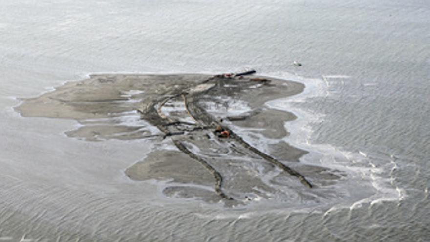 Vertido de petróleo de BP en el Golfo de México