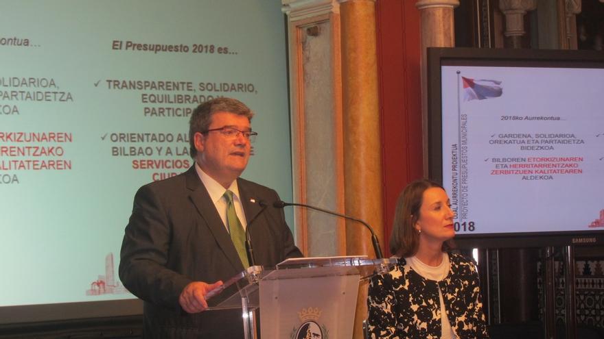 El Gobierno de Bilbao aprueba unos presupuestos para 2018 de 535,9 millones, un 1,5% más que este año