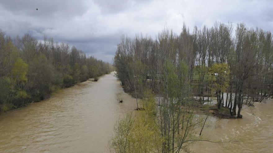 Alerta por crecidas en seis tramos de ríos en Castilla y León