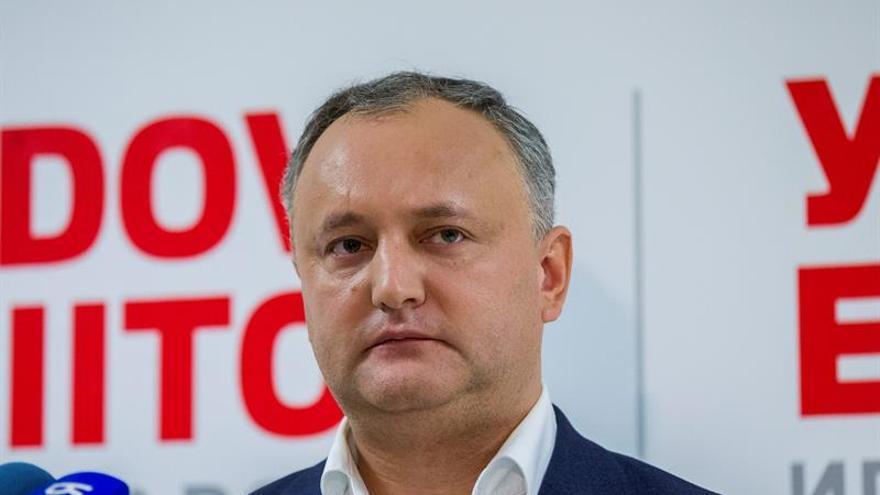 El prorruso Dodon gana las presidenciales moldavas con la promesa de alejarse de la UE
