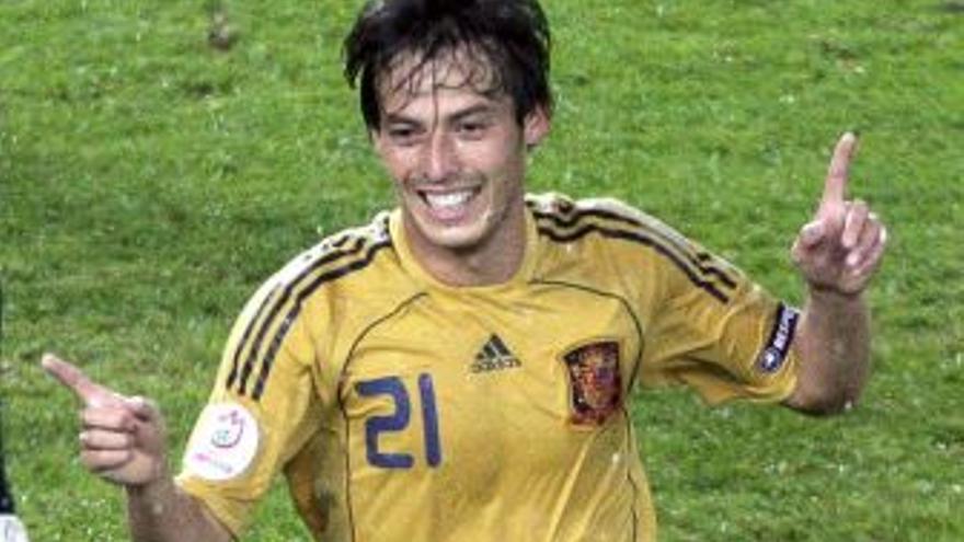David Silva, en una foto de archivo. (CANARIAS AHORA)