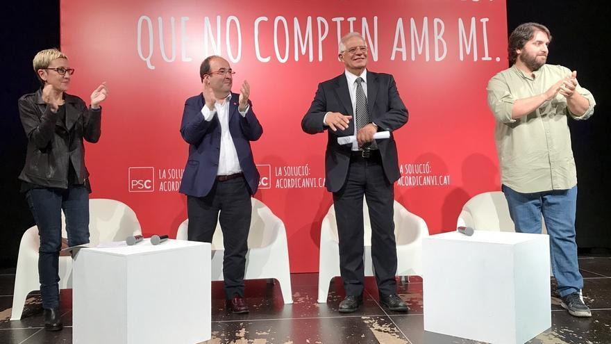 """Iceta (PSC): """"No buscan una votación sino el enfrentamiento con el resto de España"""""""