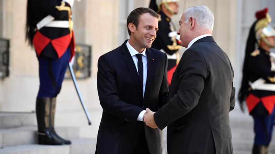 Macron reitera ante Netanyahu su responsabilidad francesa en las redadas de judíos