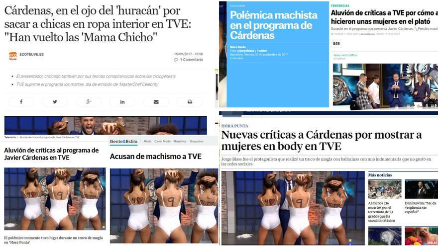 Numerosos medios se hicieron eco de la polémica
