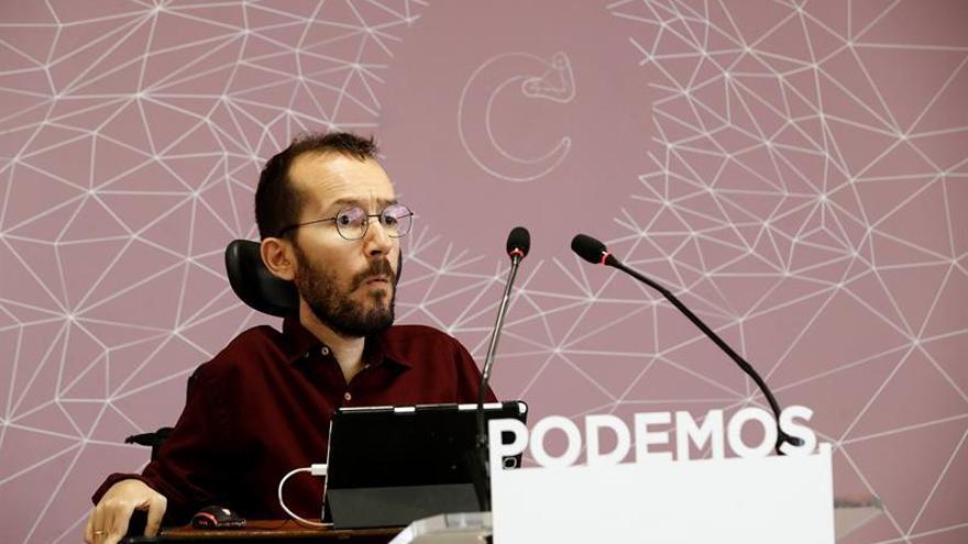 Podemos ofrece a Pedro Sánchez retirar su moción si el PSOE presenta otra