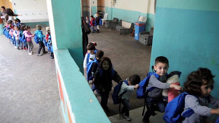 75 millones de niños en países afectados por crisis necesitan escolarización