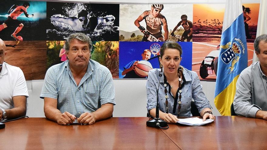 Presentación de los torneos de base que se celebrarán en octubre en Santa Cruz de Tenerife