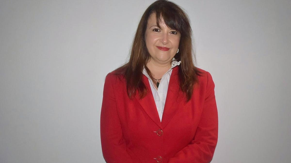 Tere Ayala, concejala de Hacienda y Contratación.