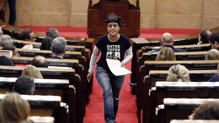 La CUP pide a Puigdemont que proclame la República antes de que se aplique el 155
