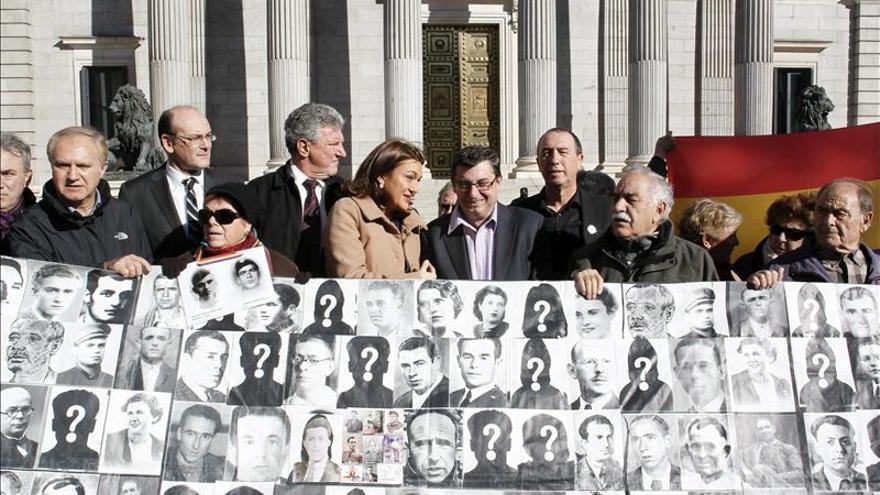 La oposición pide al Congreso una Comisión sobre los crímenes del franquismo
