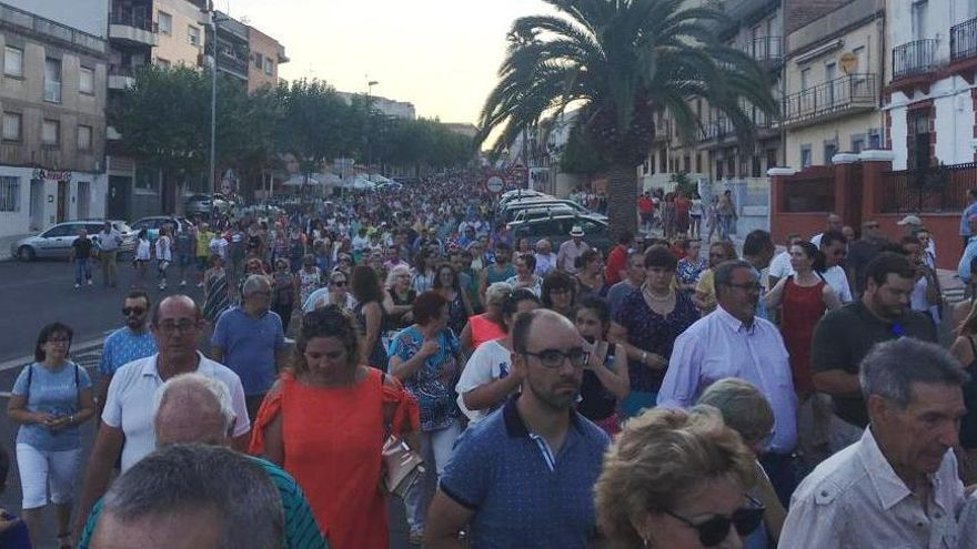 Manifestación en Almadén FOTO: PP Castilla-La Mancha