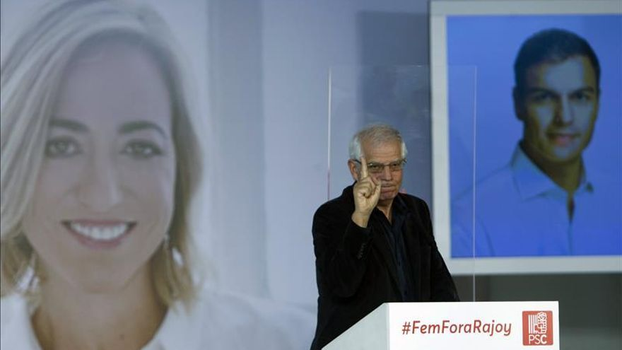 """Borrell tilda a CDC y ERC de """"embaucadores que envenenan"""" mente de catalanes"""