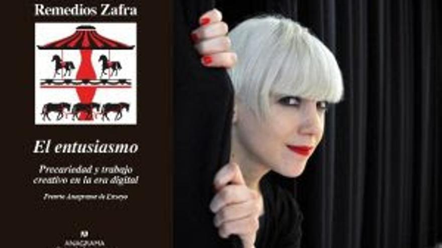 Cartagena acoge la presentación del libro de Remedios Zafra 'El entusiasmo. precariedad y trabajo en la era digital'