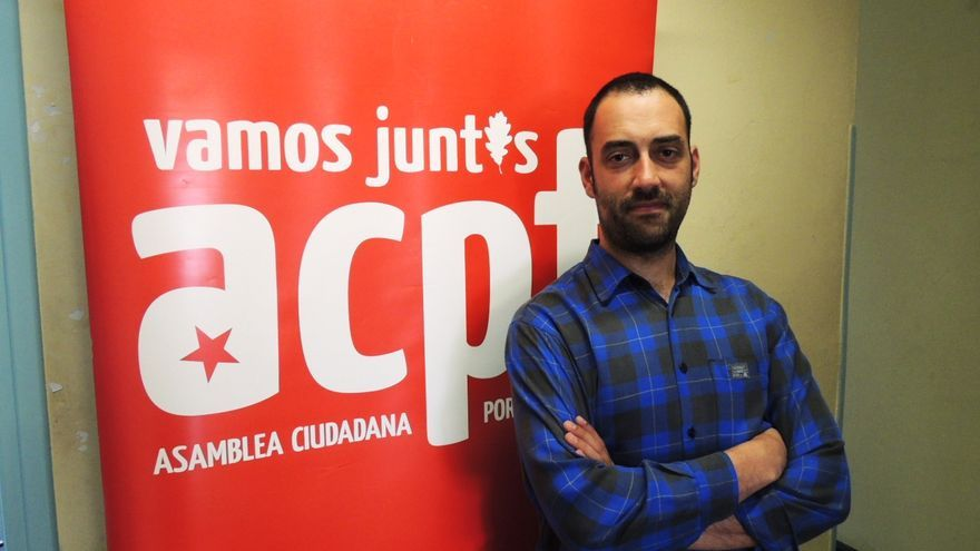 Alejandro Pérez, concejal de ACPT en Torrelavega.