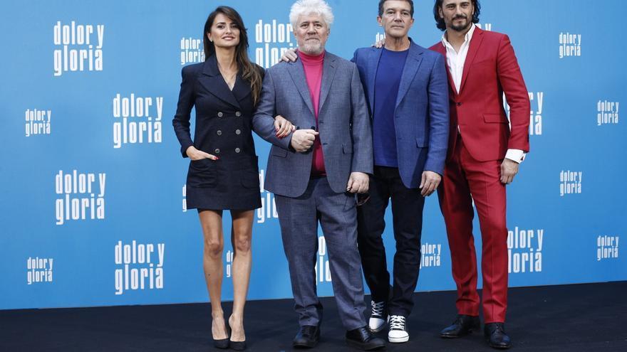 Presentación de 'Dolor y gloria', la última película de Almodóvar