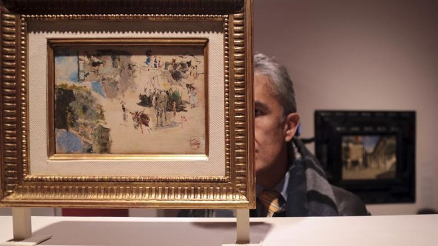Una muestra recorre por primera vez la fascinación de Fortuny por la Alhambra