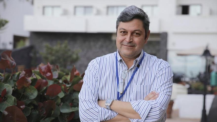 Ramón García López, investigador principal de CTA en el Instituto de Astrofísica de Canarias (IAC). Crédito: Elena Mora (IAC).