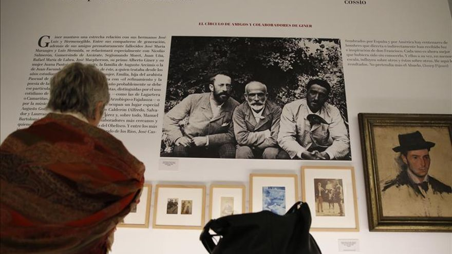 """""""Giner"""", pasado y presente del maestro de la España moderna"""