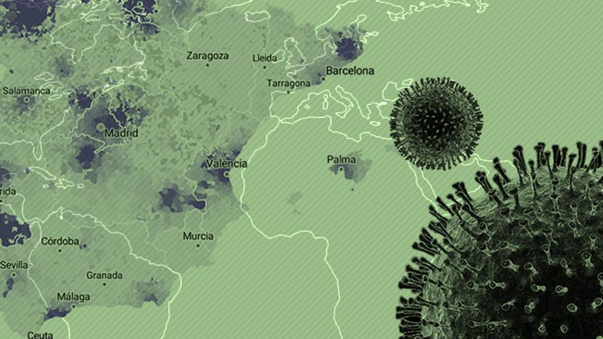 El coronavirus, en datos: mapas y gráficos de la evolución de los casos en España y el mundo