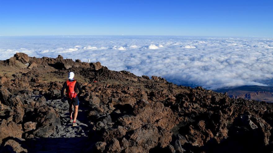 Imagen de una edición anterior de la carrera de montaña de Tenerife.