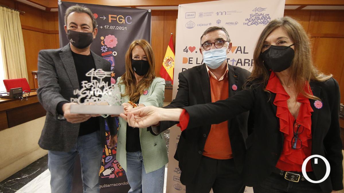 Presentación del 40º Festival de la Guitarra de Córdoba