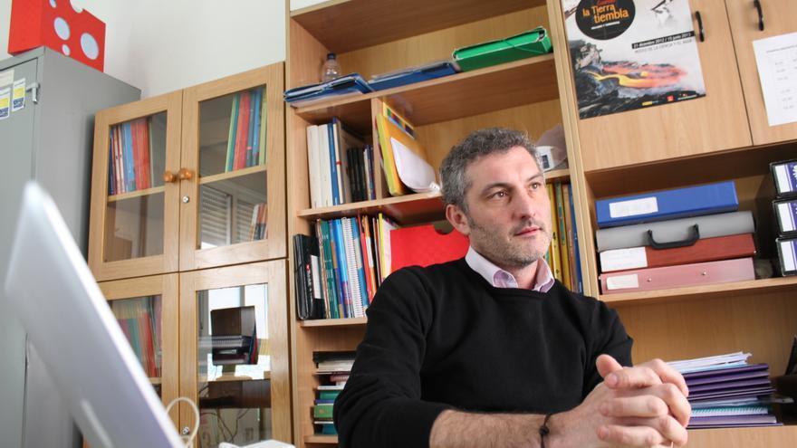 Óscar Urralburu, candidato a Secretario General de Podemos Región de Murcia / PSS