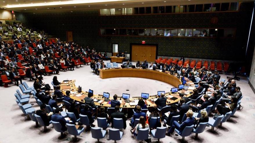 Vista del Consejo de Seguridad de la ONU en Nueva York (EE.UU.)EFE/Justin Lane/Archivo