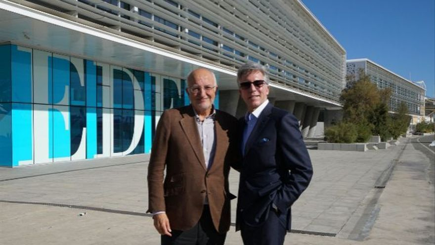 Bill McDermott, CEO de SAP junto a Juan Roig