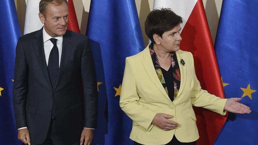 Tusk pide al Gobierno polaco que no se una a quienes quieren socavar la UE