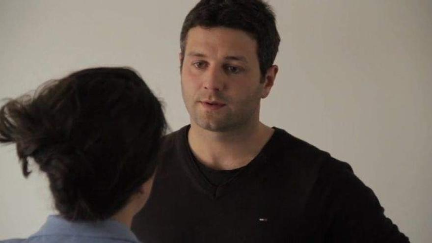 El actor Mateo González. Foto: Vimeo