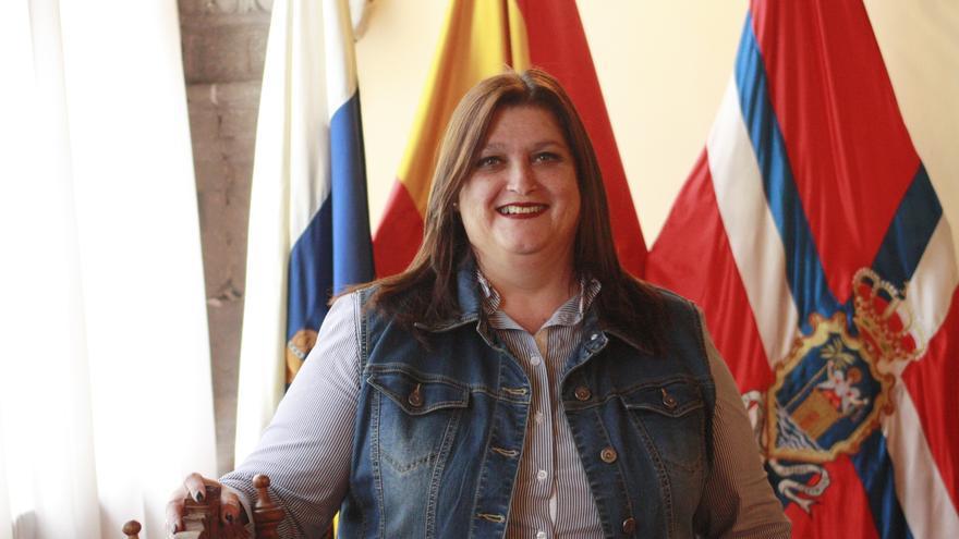 Gazmira Rodríguez, concejala de Bienestar Social e Igualdad de Oportunidades del Ayuntamiento de Santa Cruz de La Palma.