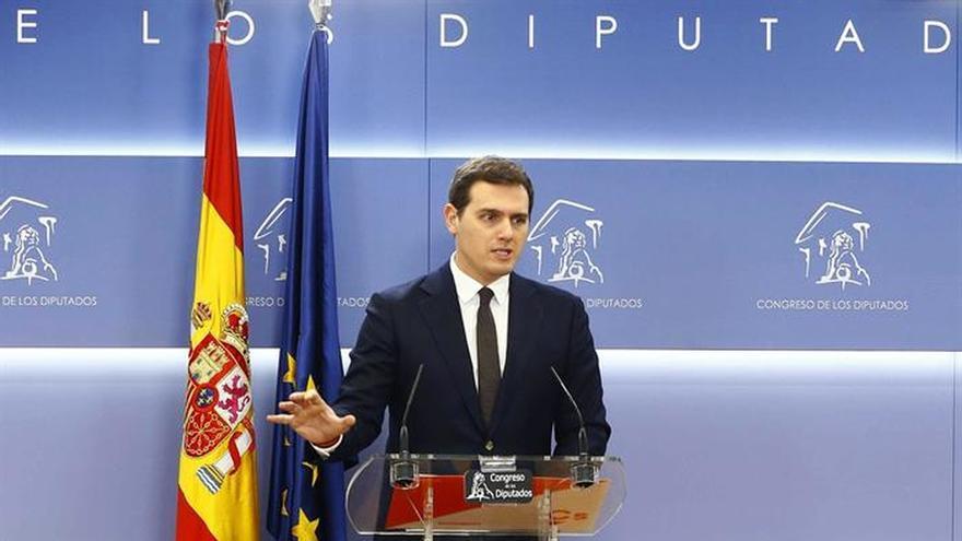 Rivera avisa que intentará evitar que Puigdemont o Junqueras presidan Govern