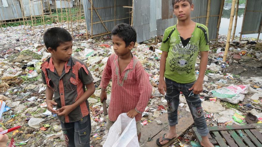 Trabajo infantil en Bangladesh