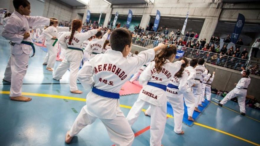 El comienzo de la competición de taekwondo será una jornada lúdica en la que participarán cerca de 600 deportistas / Cabildo de Tenerife