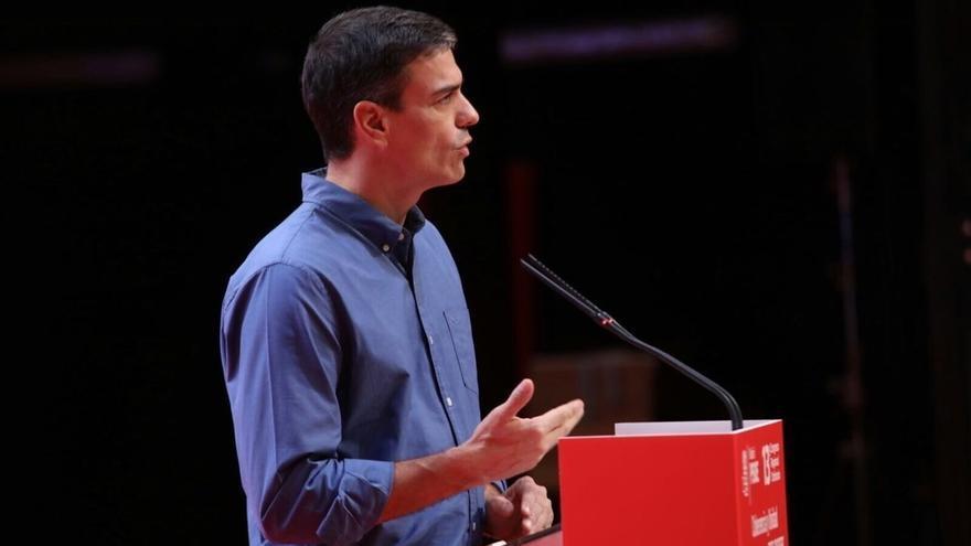 """Pedro Sánchez advierte de que la activación del 155 """"dependerá de la decisión última de Puigdemont"""""""