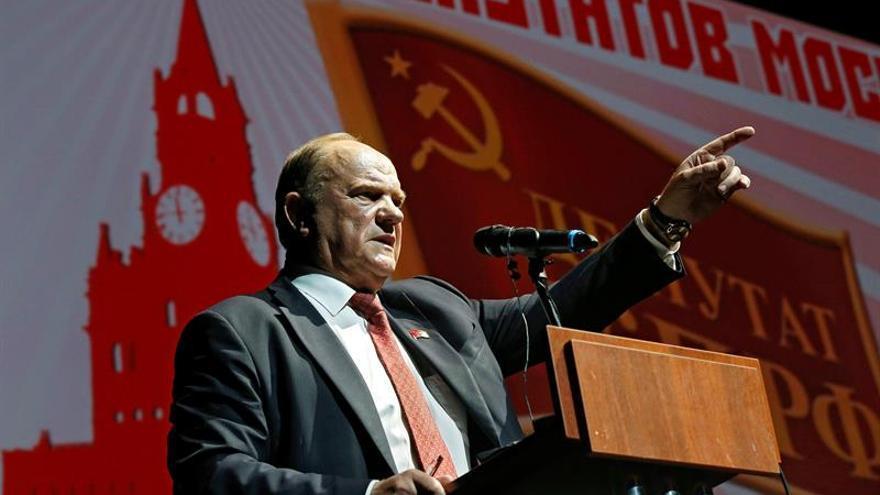 Comunistas denuncian que la campaña electoral rusa es la más sucia desde 1991