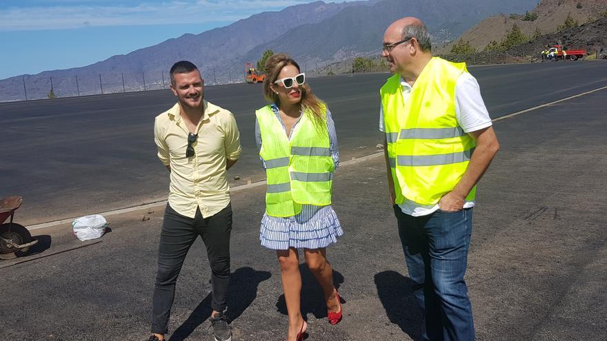 Anselmo Pestana visitó las obras del complejo deportivo.