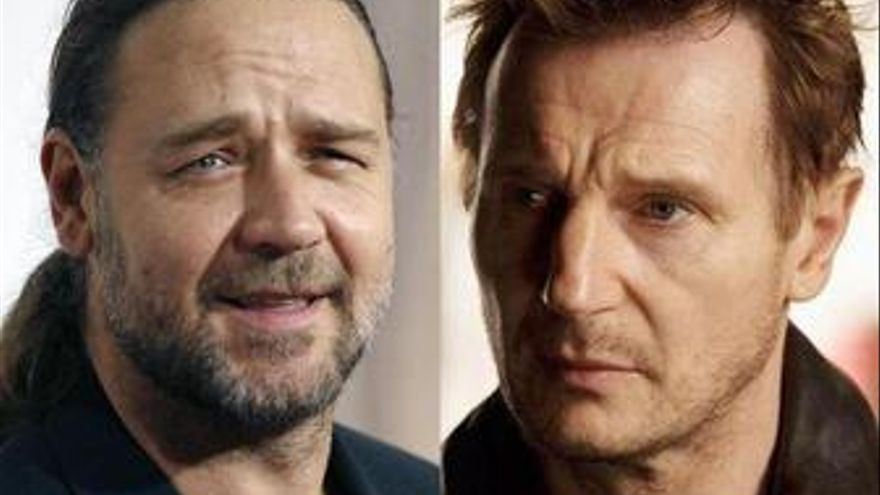 Russell Crowe y Liam Neeson