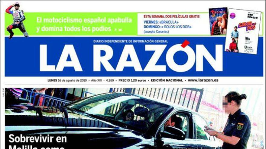 De las portadas del día (16/08/2010) #4