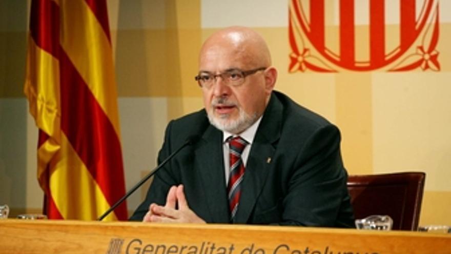 El conseller Josep Huguet (ERC).