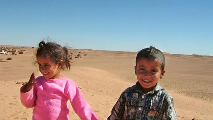 Niños saharauis. Foto: Ayuntamiento de Sonseca